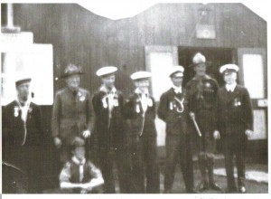 Baden Powell visiting Dublin Sea Scouts at Ringsend 1913