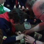 Helping hand from Cub Leader Alan Johns