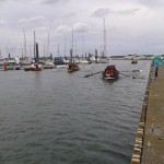 boat drill in Malahide Marina