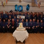 Invited guests and delegates at the 100th Sea Scouting Conference