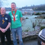 Frank Conlon (Blackrock Sea Scouts,Co.Louth and Lee Hazzard (Malahide)