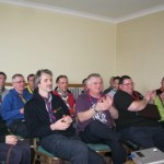 Sea scout leaders at the Sea Scouting Conference , Killaloe,Co.Clare