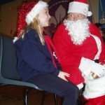 Santa Claus visit to the Friday Night Beavers