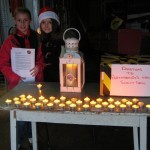 The Peace Light arrives in Malahide from Bethlehem