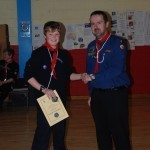 Presentation of Chief Scouts award