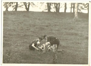 1st Malahide Boy Scout Troop, First Aid Competition, Phoenix Park 1952