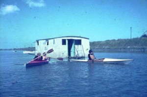 Scouts Boathouse 'Lee-Ho' on Broadmeadow 1972