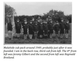 Cub pack 1949