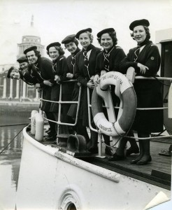 On board The Lady Grania at George's Quay, Dublin 2.
