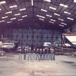 Scout meetings 1983 in Malahide Boat Yard