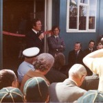 "Opening of ""Lions Den"" May 1975"