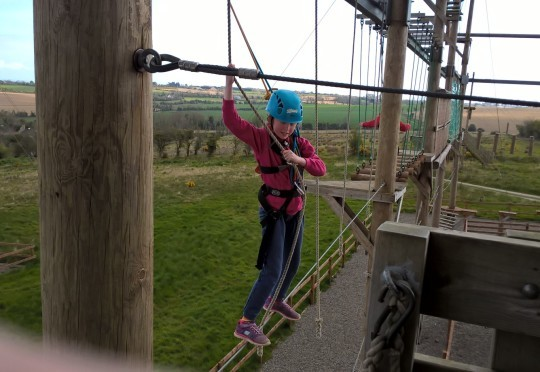 Monday Cubs having an action packed morning at Xtreme Adventure Centre