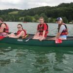 Canoeing Mattsee Austria Jul'20163