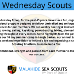 Wednesday Scouts